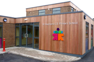 St.Stephens Primary School outside