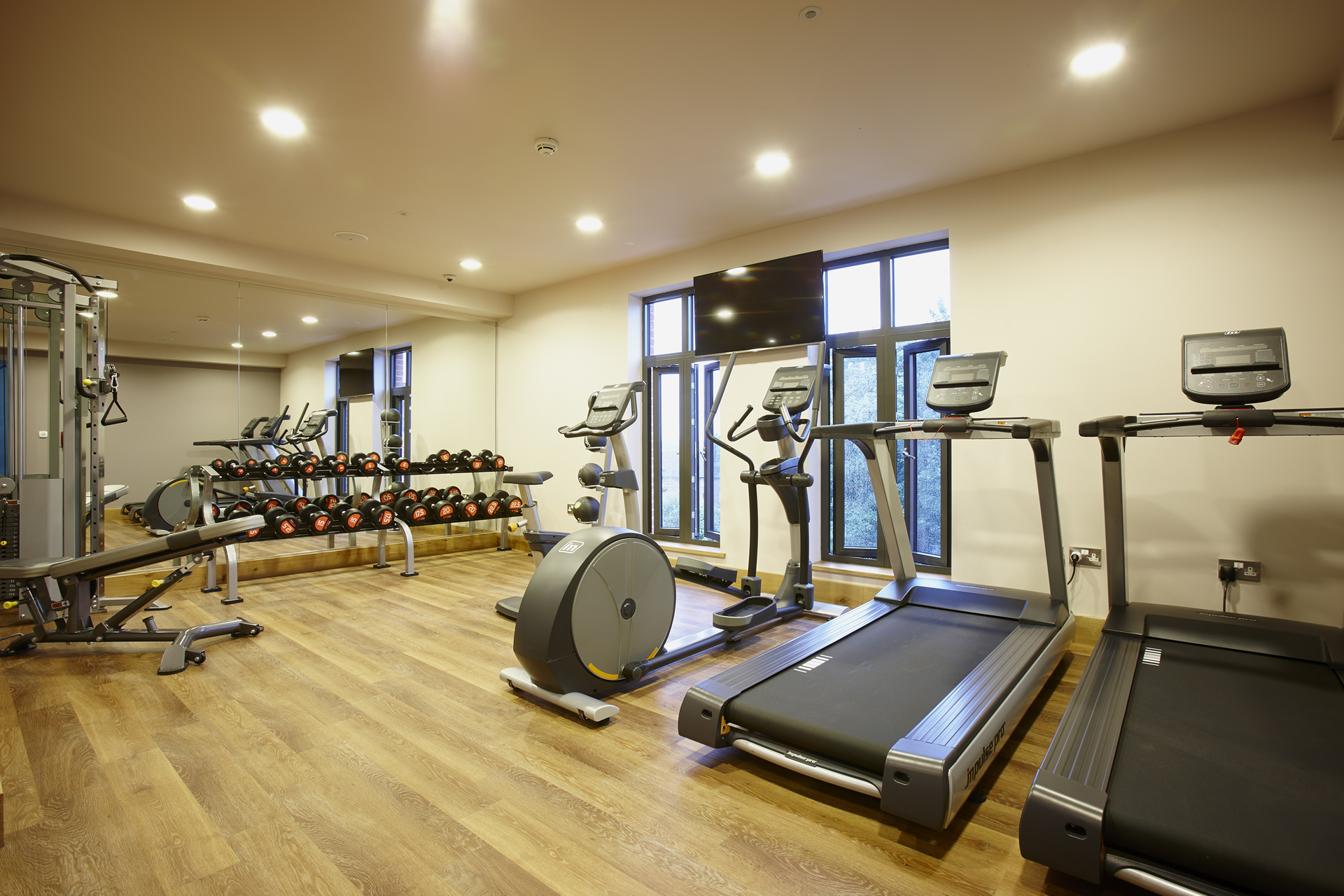 hotel indigo york gym