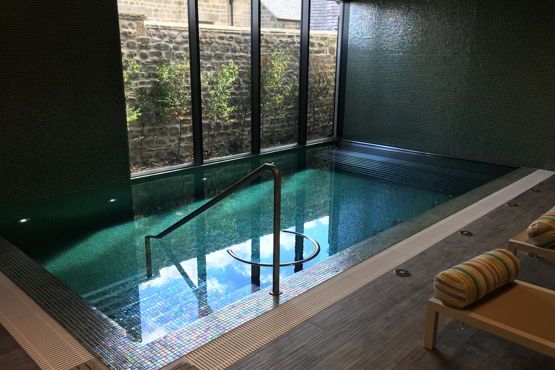 swinton park spa pool