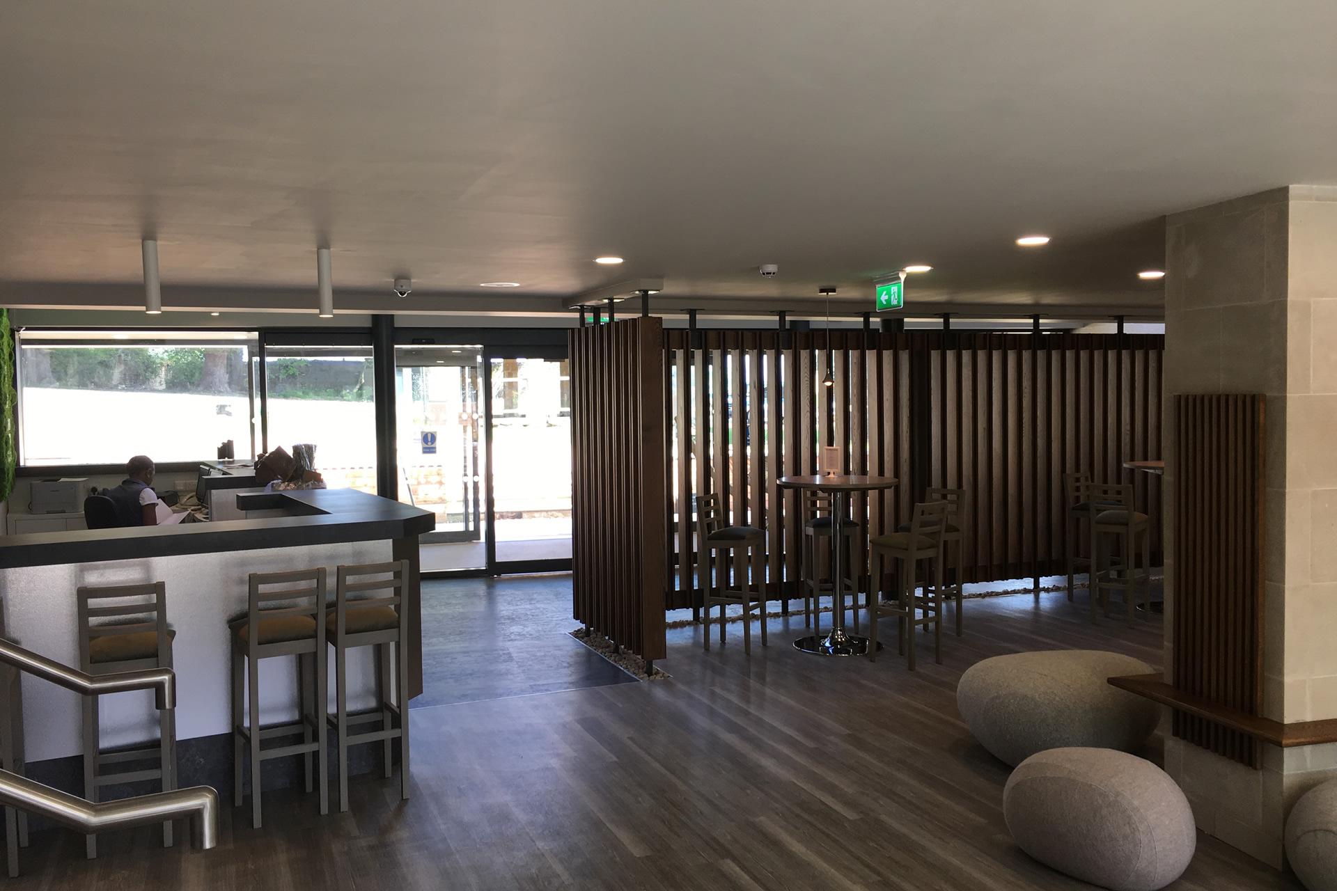 swinton park spa reception