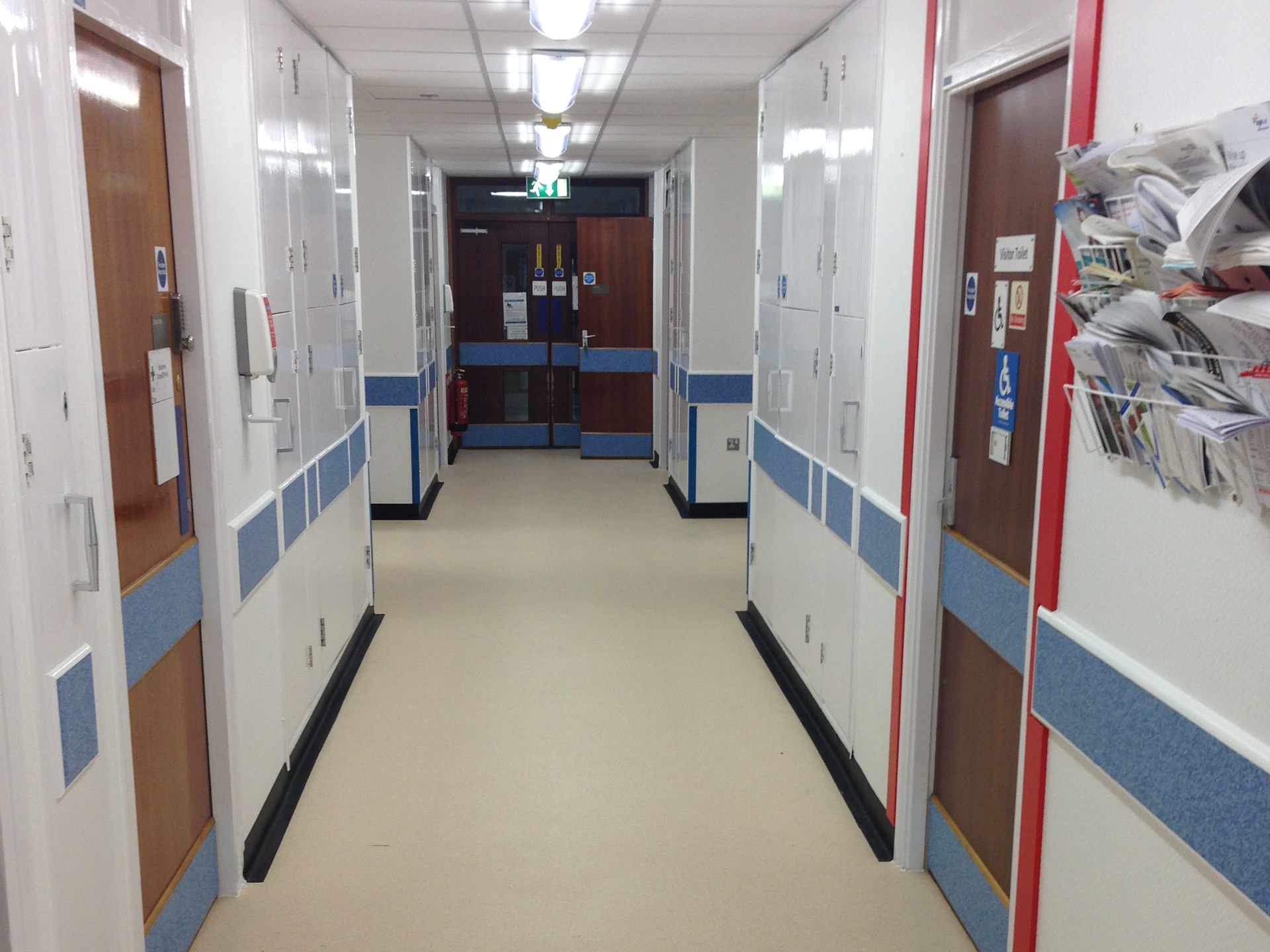 Refurbishment of Airedale General Hospital Ward 9 Dementia Ward.