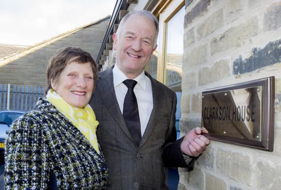 opening of clarkson house